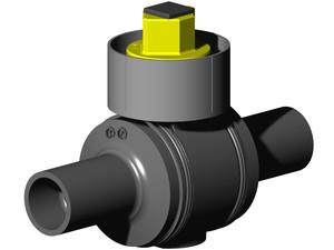 Valvulas de polietileno para gas y agua cag canalizaciones for Polietileno para estanques
